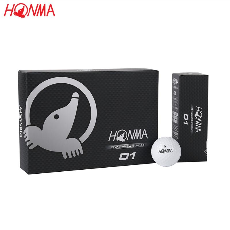 HONMA гольф серия гольф двойной мяч D1 GOLF два мяч далеко расстояние мяч