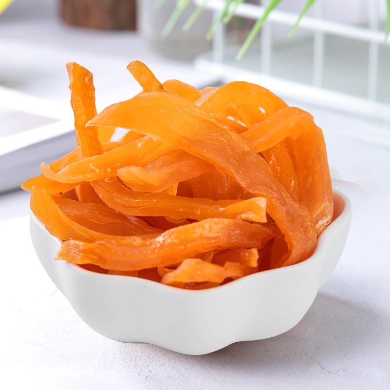 雅集农家红薯干福建特产地瓜干500g自制原味软糯番薯条