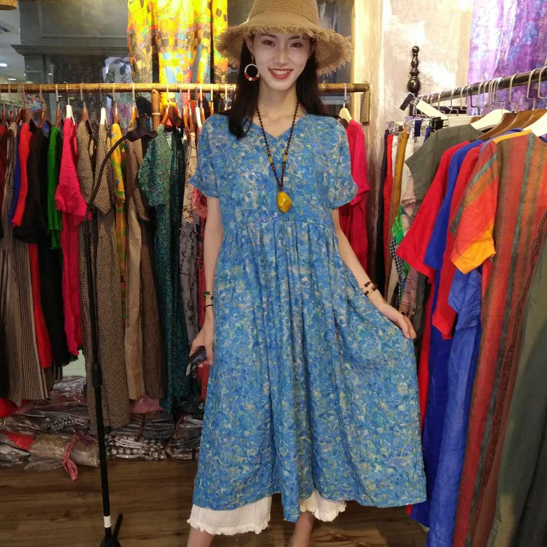 夏季新款女装品质连衣裙  GGn2f136-717543
