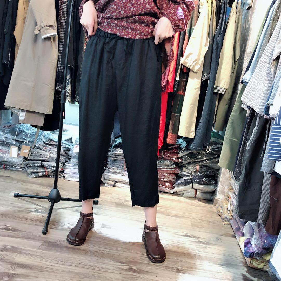夏季新款女装品质休闲裤 GGN2F136-80118047