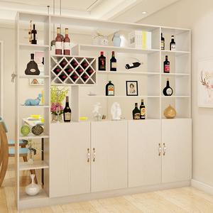 客厅进门餐厅现代简约酒柜隔断鞋柜