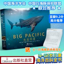 大太平洋 12岁科普儿童绘本畅销读物亲子阅读优秀科普豆瓣9.2高分推荐 海洋动物海洋生物海洋怪物小百科大白鲨水母大章鱼海洋世界4