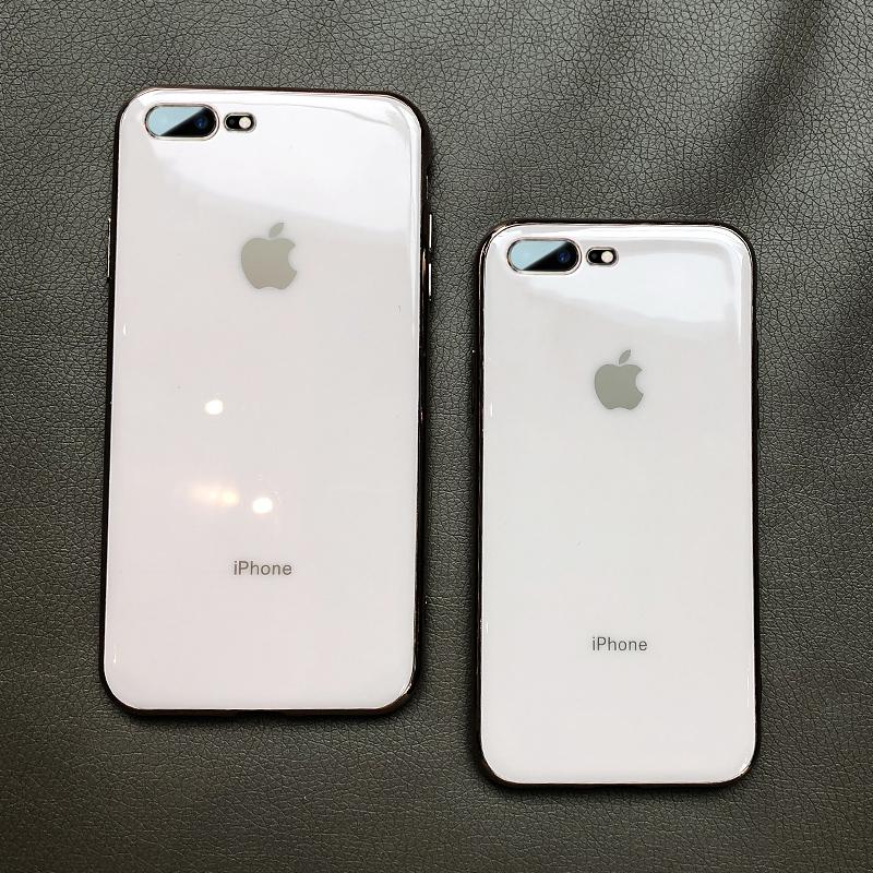 苹果8plus手机壳7plus男女款iPhone7新款8软硅胶全包边8p电镀7p夏天超薄个性创意潮牌i7变8网红ins七八p防摔