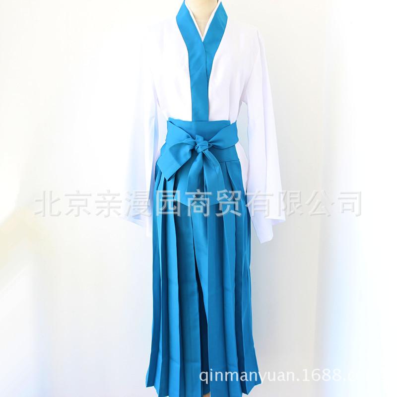 cosplay服装日式和服志村新八cos银魂动漫服装