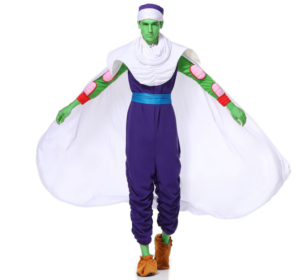 Japanese seven dragon ball cartoon shibit demon king Role Play Costume Halloween Costume Adult Male