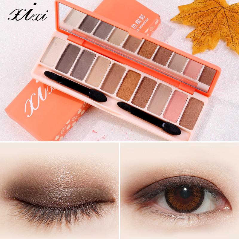 xixi 灵动大 眼10色眼影使用分享,推荐