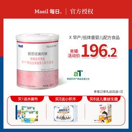 Maeil每日愛思諾晨而慧早產兒低體重嬰幼兒特殊配方奶粉400g罐裝圖片