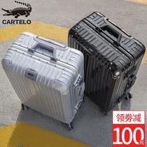 29复古学生26密码箱24寸拉杆箱旅行箱万向轮韩版男20行李箱女