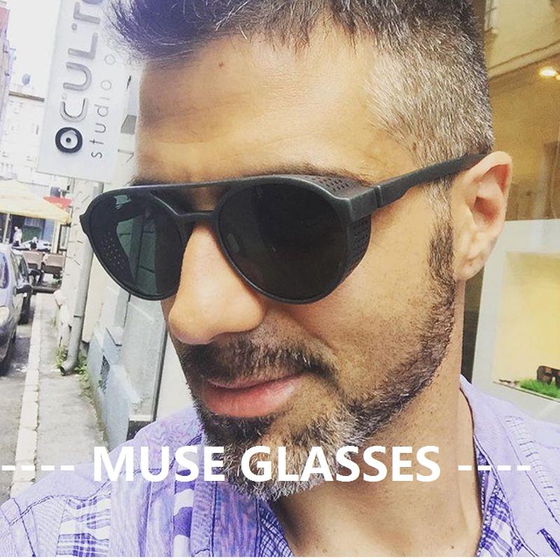 2019 new retro fashion tactical goggles Harley riding sunglasses sunglasses motorized windproof glasses brightening glasses