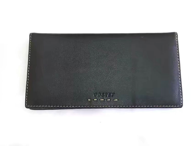 Goster mens Leather Wallet top layer Calf Leather Multi card multi-functional WALLET TICKET wallet youth Wallet