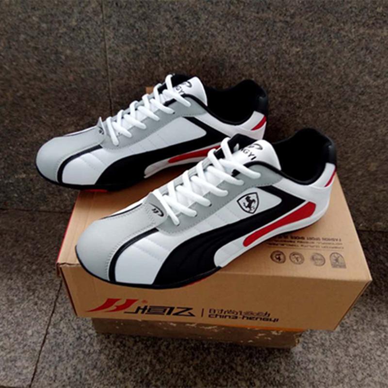 恒亿运动鞋男2021春秋品牌男鞋情侣小白鞋女学生韩版男士运动鞋子