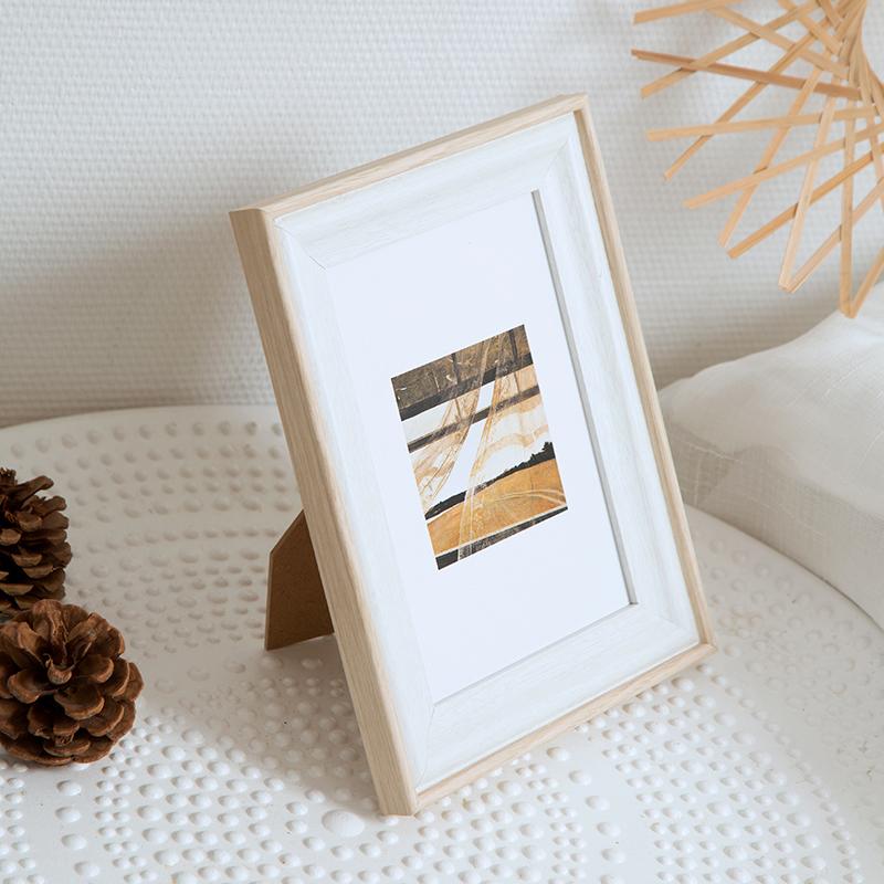 欧式ins相框摆台6寸7寸8寸10寸创意装饰画框外框简约加洗照片挂墙