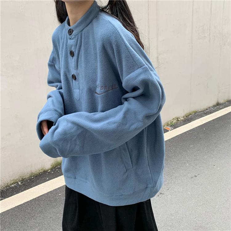限时秒杀2019韩版新款初秋慵懒bf宽松女卫衣