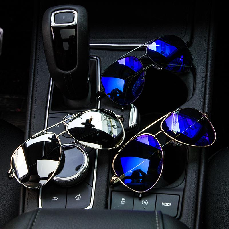 男士墨镜偏光太阳镜男潮人防紫外线开车蛤蟆镜司机镜驾驶镜潮新款(用3元券)