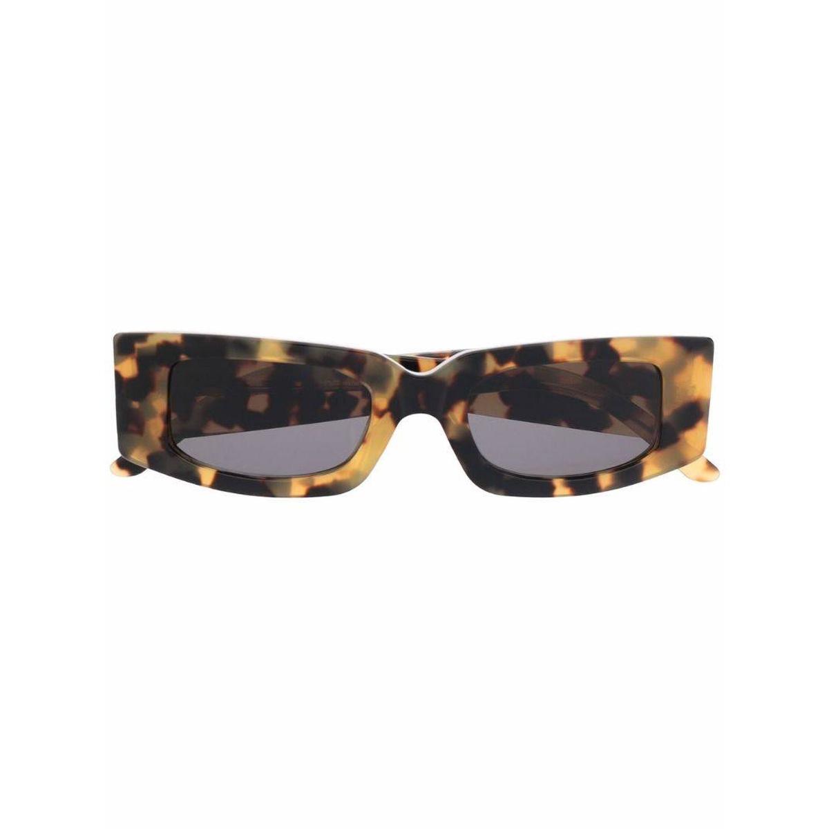代购Sunnei Prototype 长方形框太阳眼镜女2021新款奢侈品