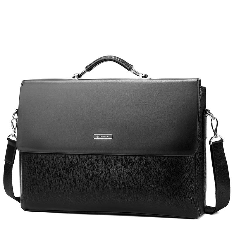 11月03日最新优惠英飞尼奥横款男士手提包单肩公文包