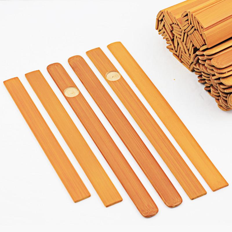 美しい料理の竹串の札の価格は竹の鍋料理のホテルのラベルの筒の物価の熱い犬の軽食の箸を焼きます