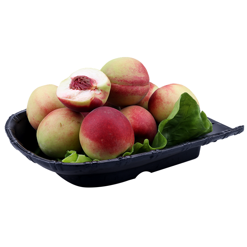 顺丰包邮 青州蜜桃冬雪桃冬桃红蜜桃裂纹毛桃新鲜水果非水蜜桃5斤