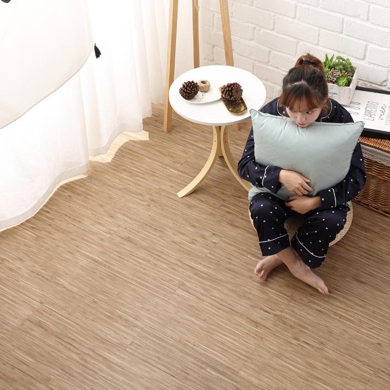PVC self-adhesive wood floor leather plastic sticker apartment building guest room hotel office decoration