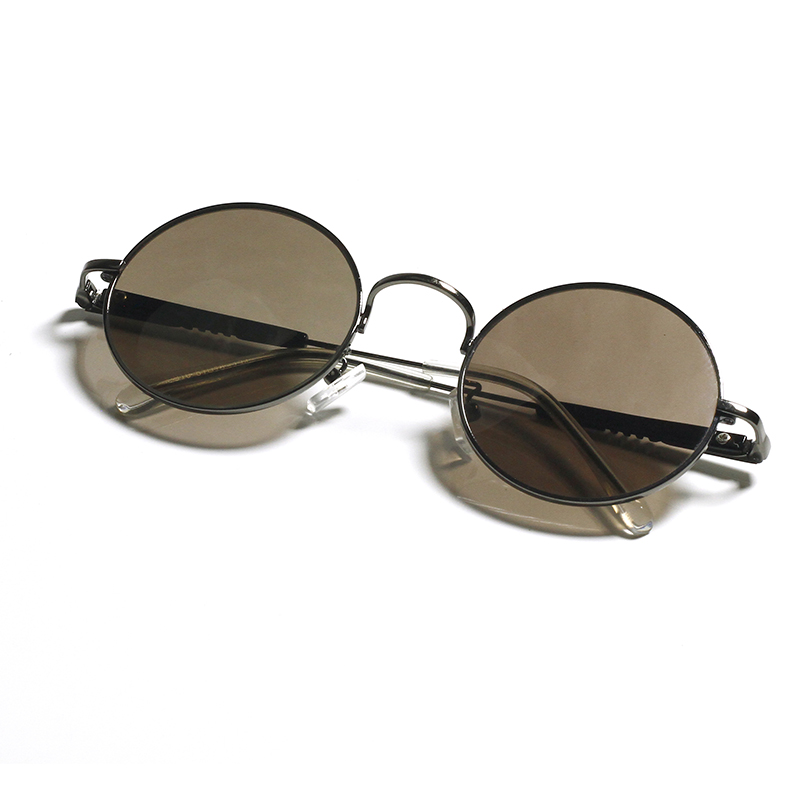Crystal sunglasses mens and womens crystal natural round glasses stone Sunglasses round eye protection retro crystal fashion