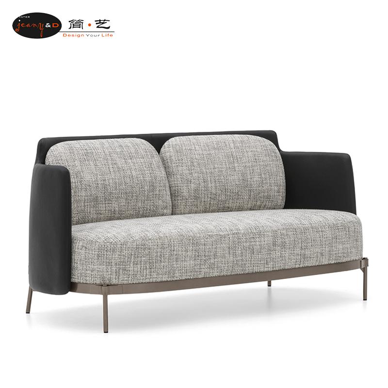 Italian new furniture exhibition design master leisure chair Nordic luxury creative fabric soft bag single sofa