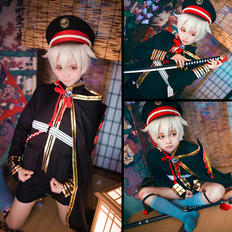 Dancing sword, firefly, firefly ball, cosplay, JK C suit, wig shoes in stock