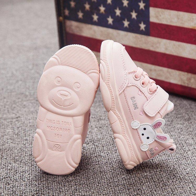 手慢无女宝宝1-3岁女童5网红休闲运动鞋