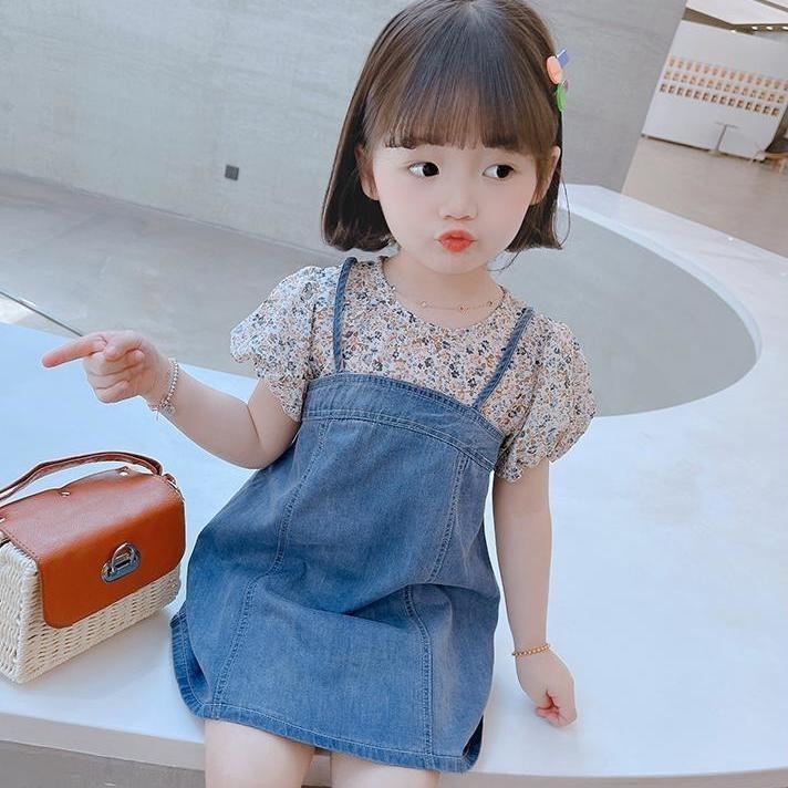 女童连衣裙夏季2021新款儿童公主裙