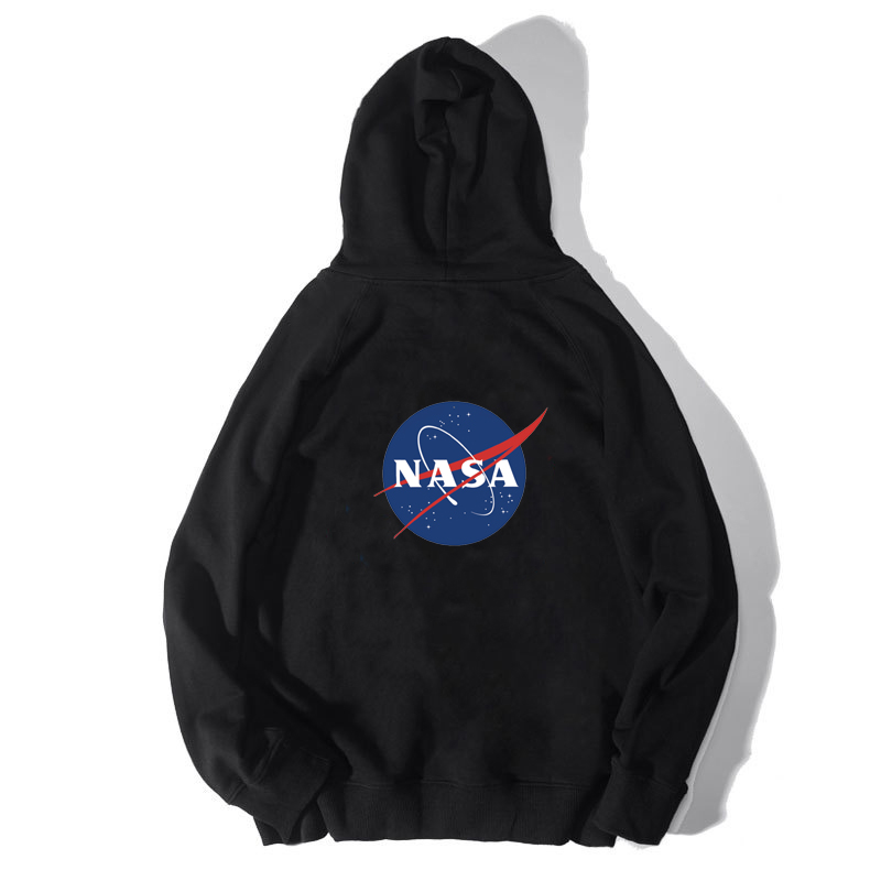 Hey man Japanese street fashion brand NASA sweater mens Hoodie