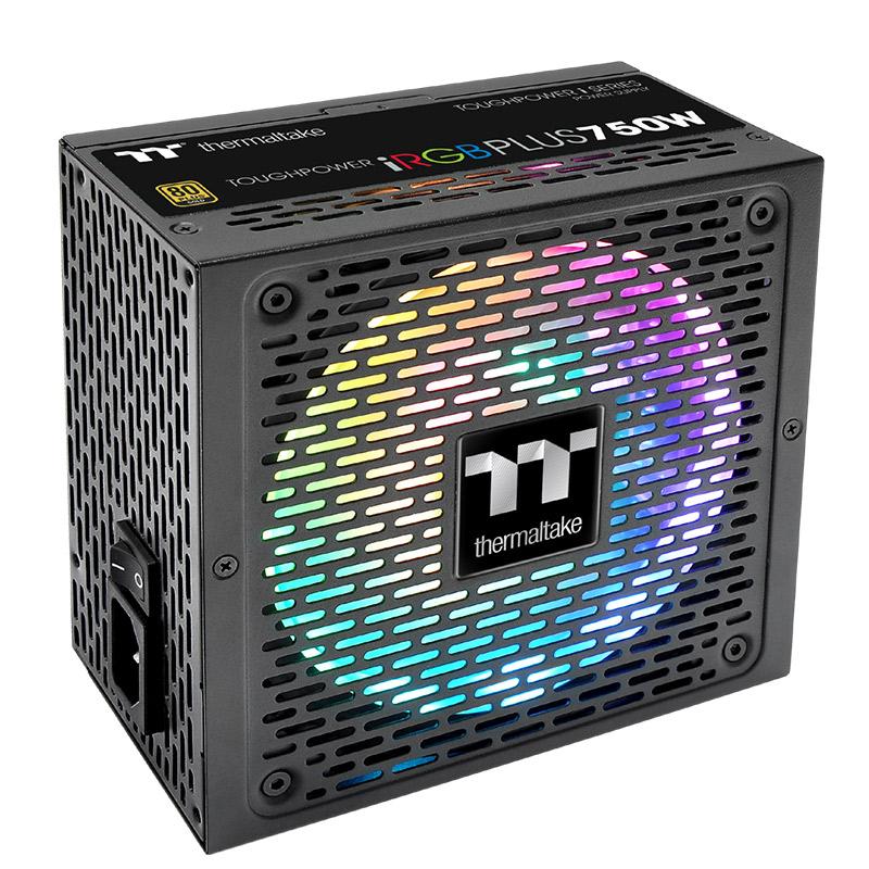 Tt 电源 TPI RGB 750W/850W/1000W金牌数位电脑游戏主机箱电源