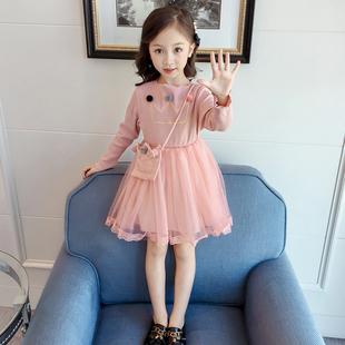 连衣裙超洋气2019新款公主纱裙子