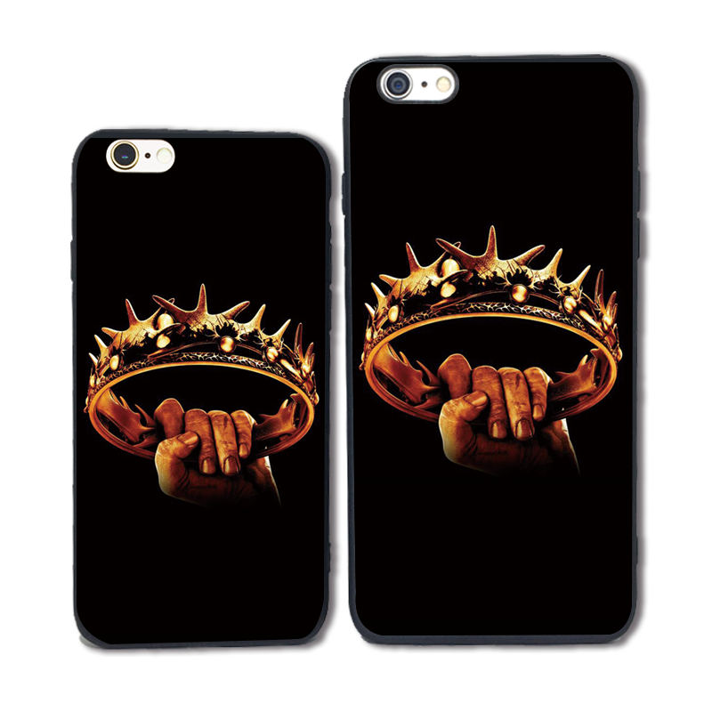 European and American HBO power game ring trendy men ins popular model suitable for iPhone 6splus mobile phone case silicone