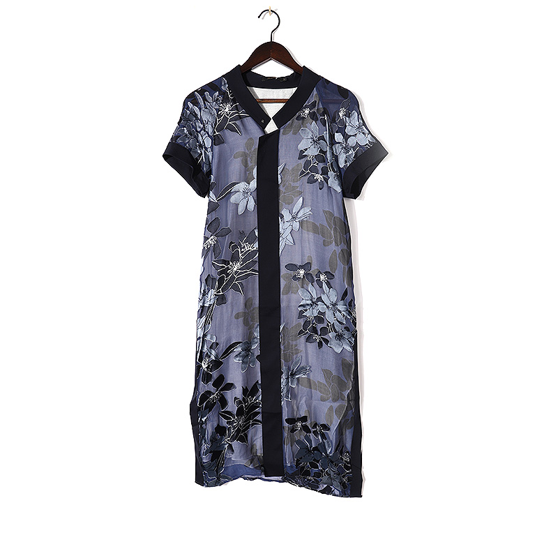 佐尚   11822LY667   时尚简约夏季连衣裙