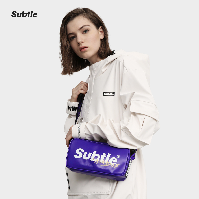 【限定版】Subtle INDIE TANZANITE 坦桑石紫 斜挎单肩包街头腰包