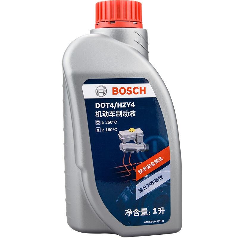 【 машина после 】 bosch BOSCH тормоза масло система шаг жидкость DOT4 сцепление масло 1L загрузка запрос на защиту от подделки