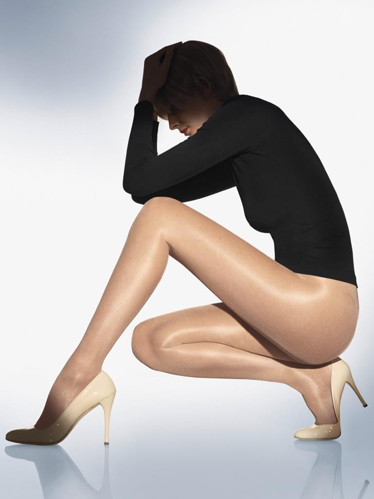 2319cf70129 [ TIGHTSSHOP ☆ Limited Specials] Wolford Satin 20D noble glossy thin  section pantyhose