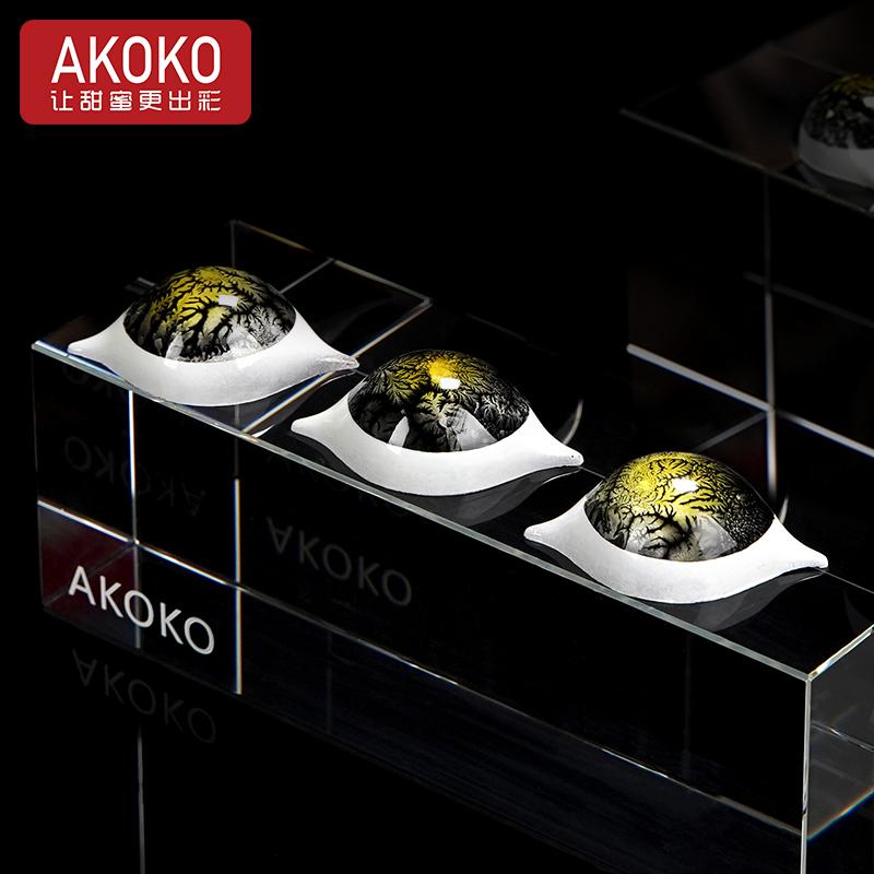 akoko21连柠檬形巧克力pc 10036