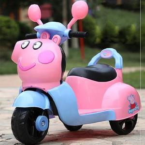 广场儿童玩具车男孩大号推双驱动可坐可骑可坐人闪光灯电瓶溜溜车