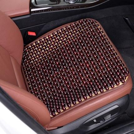 汽车坐垫木珠 隔热透气凉垫夏季单片椅垫 通风珠子座垫单个屁屁垫