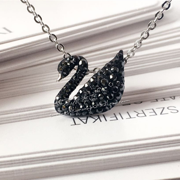 Сооно бесплатная доставка хуа ло мир странный покупка высокакачественных товаров из специализированного магазина классический маленький ночь гусь кристалл серебро ожерелье 5347330