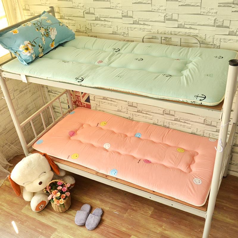 12月03日最新优惠床垫软垫学生硬垫宿舍90寝室单人1.2m榻榻米褥子垫被1.35米可定制