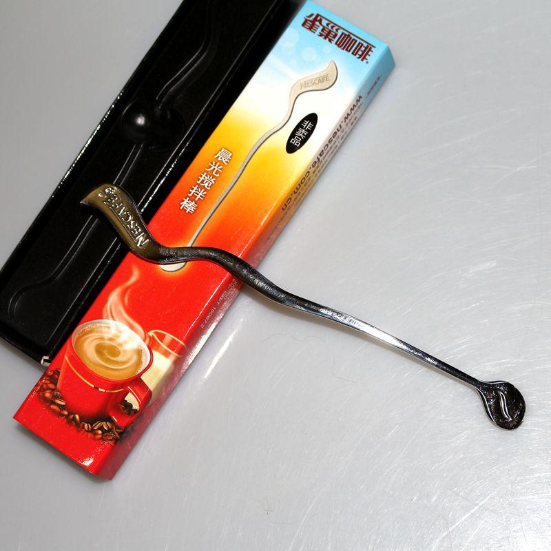 全新盒装雀巢咖啡搅拌棒2011年限量版304不锈钢咖啡勺一个包邮