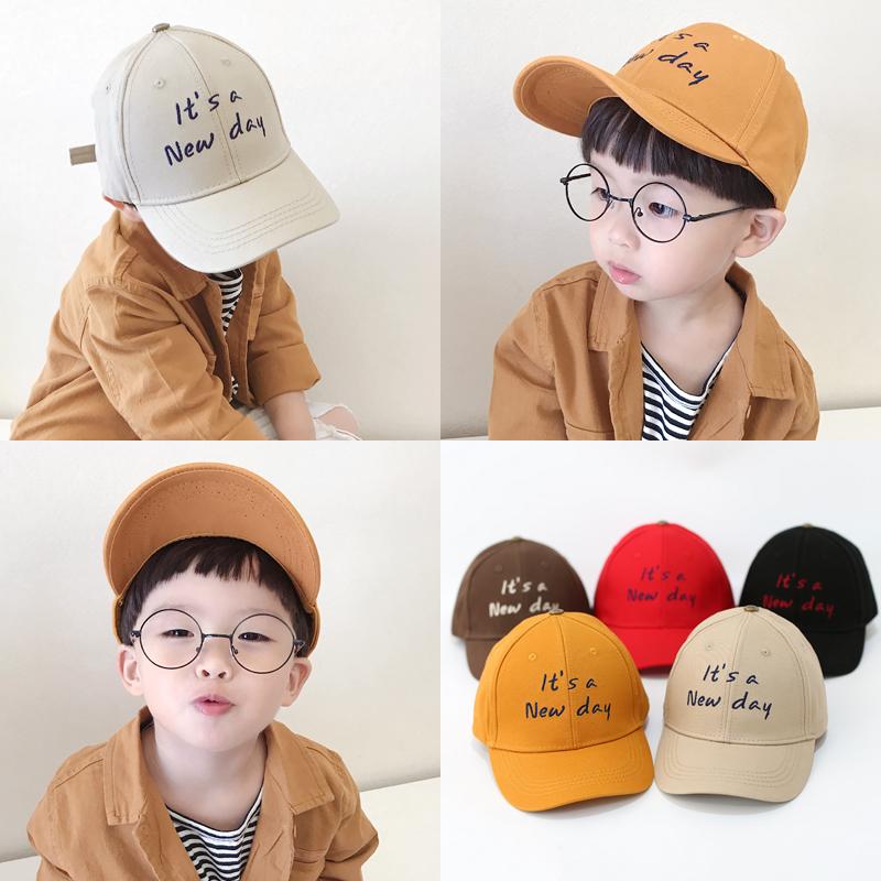 11月30日最新优惠男童棒球帽春夏女童婴儿宝宝儿童帽子秋冬遮阳太阳帽薄款鸭舌防晒