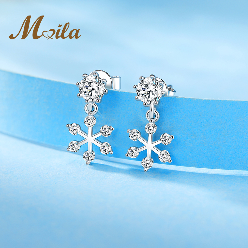 Mina sunflower pure Tremella nail femininity Korean personality simple Earrings exquisite Earrings inlaid with Cubic Zirconia