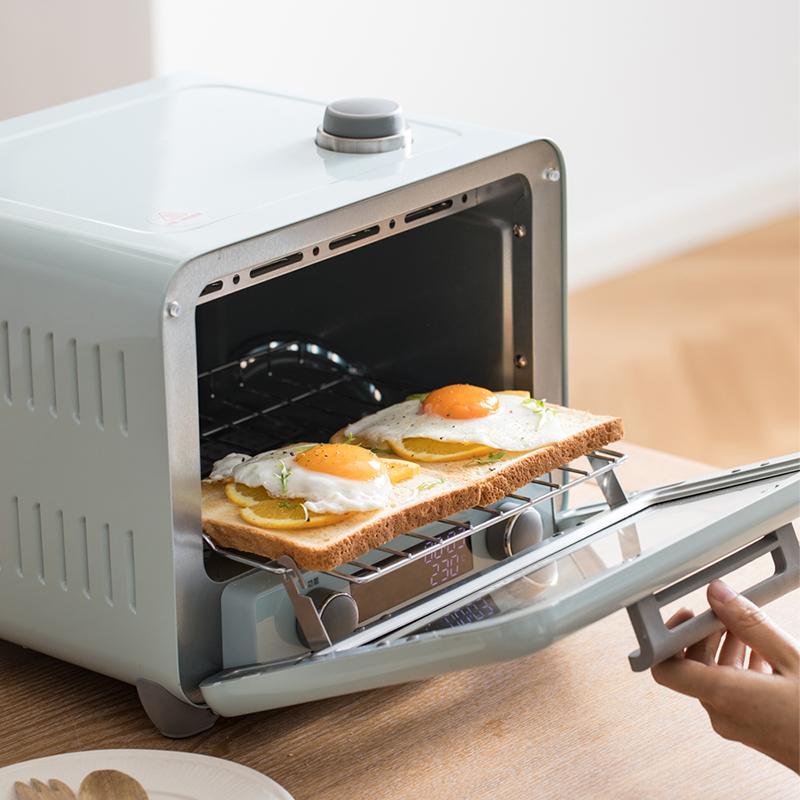 小熊電烤箱家用烘焙多功能全自動蒸汽小烤箱烘焙蛋糕披薩溶豆15L