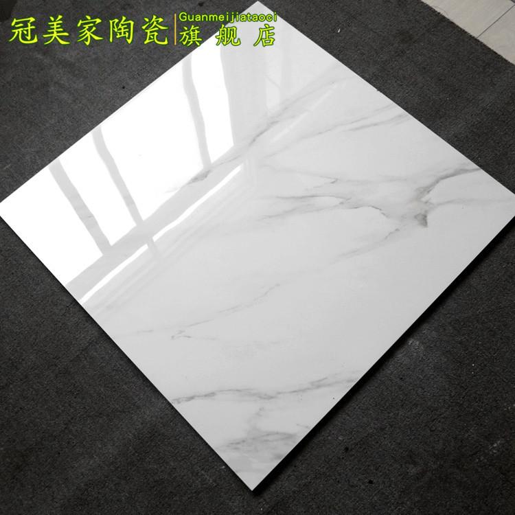 Фошанский джаз белый Напольная плитка 800x800 гостиная плитка алмазная глазурь спальня мрамор полностью Застекленная земля панель кирпич