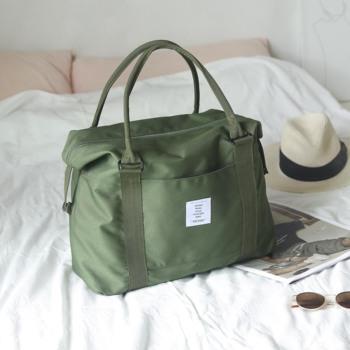 短途帆布女男轻便手提包健身旅行袋