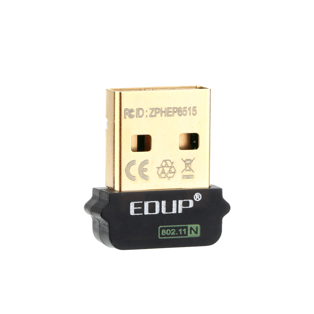 EDUP 2.4GHz 150Mbps 150M USB Mini Wireless WiFi Adapter Dong