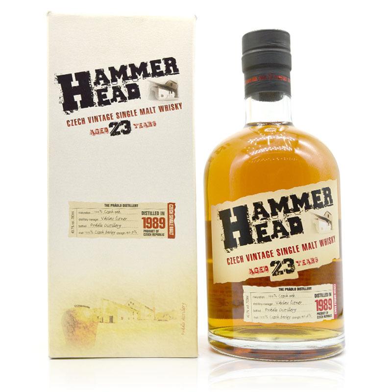Imported foreign wine hammahead 23 year single malt whisky hammer head bottle 700 / 40