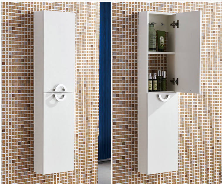 卫生间防水吊柜壁柜浴室储物柜收纳柜置物柜架马桶边柜侧柜夹缝柜